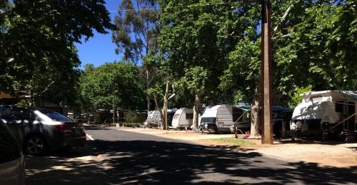Pemandangan Brownhill Creek Caravan Park